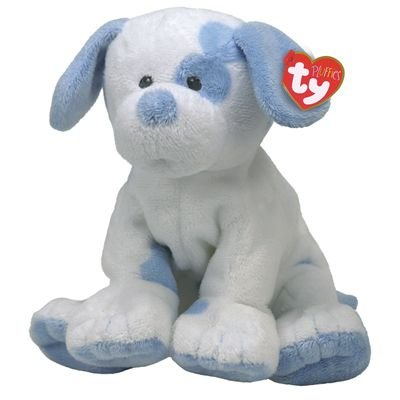 Ty Baby PUPS - Blue Dog by Ty