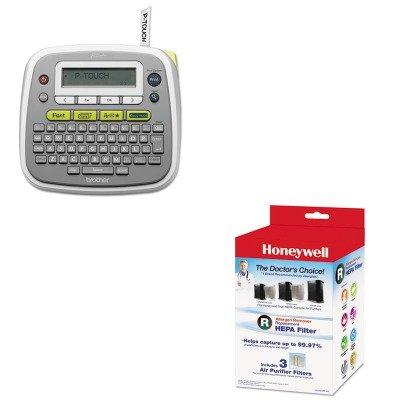 KITBRTPTD200HWLHRFR3 - Value Kit - Honeywell Allergen Remover Replacement HEPA Filters (HWLHRFR3) and Brother P-Touch PT-D200 Label Maker (BRTPTD200)