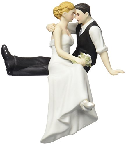 Weddingstar The Look of Love Bride and Groom Couple Figurine for Cakes (Casual Wedding Cake Topper)