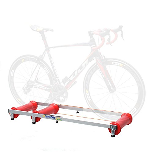 CyclingDeal Professional Indoor Bicycle Bike Parabolic Roller Rollers Trainer