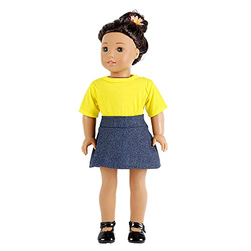 Theshy T-Shirt Skirt 18 Inch American Boy Doll
