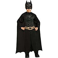 Batman: The Dark Knight Rises: Action Suit with Cape and Mask (Black) Small (8-10)