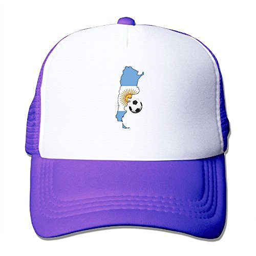 Soccer Trucker Hat - Wyl_id Adult Argentina Soccer Mesh Hat Adjustable Baseball Hat Unisex Dad Cap