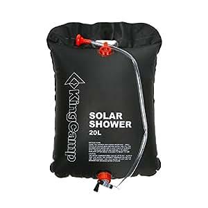 KingCamp Portable Outdoor Solar Shower Bag 20 Litre/5.28 Gallon