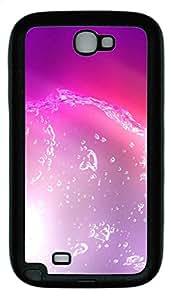 Samsung Note 2 Case Dynamic liquid TPU Custom Samsung Note 2 Case Cover Black