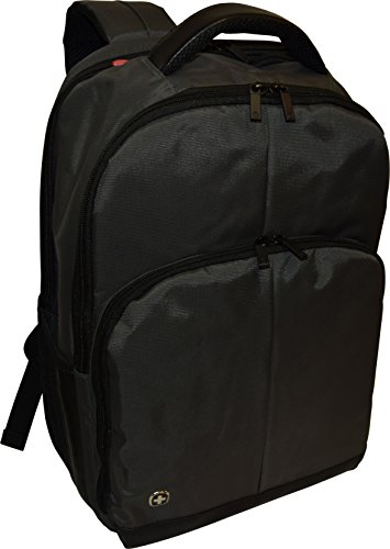 Wenger SwissGear Link 16 Backpack With 16 Laptop Pocket -Grey