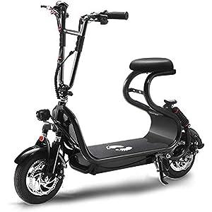 41H2sv7oD2L. SS300 Folding Bike Elettrico, età Due Ruote Mini Pedal Electric Car Leggero E Alluminio Pieghevole Bici per Adulti Uomini E…
