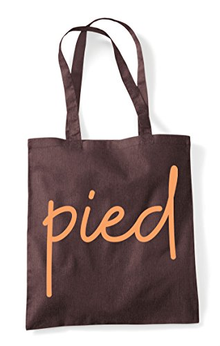 Tote Quote Pied Bag Brown Shopper Statement Hashtag xnqqwfF