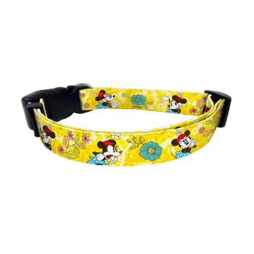 Platinum Pets Disney Nylon Pet Collar, Minnie Mouse, 3/4-Inch