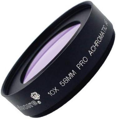 SIOCORE 72mm acromática 10 nahlinse macro lente macro-convertidor Abbe