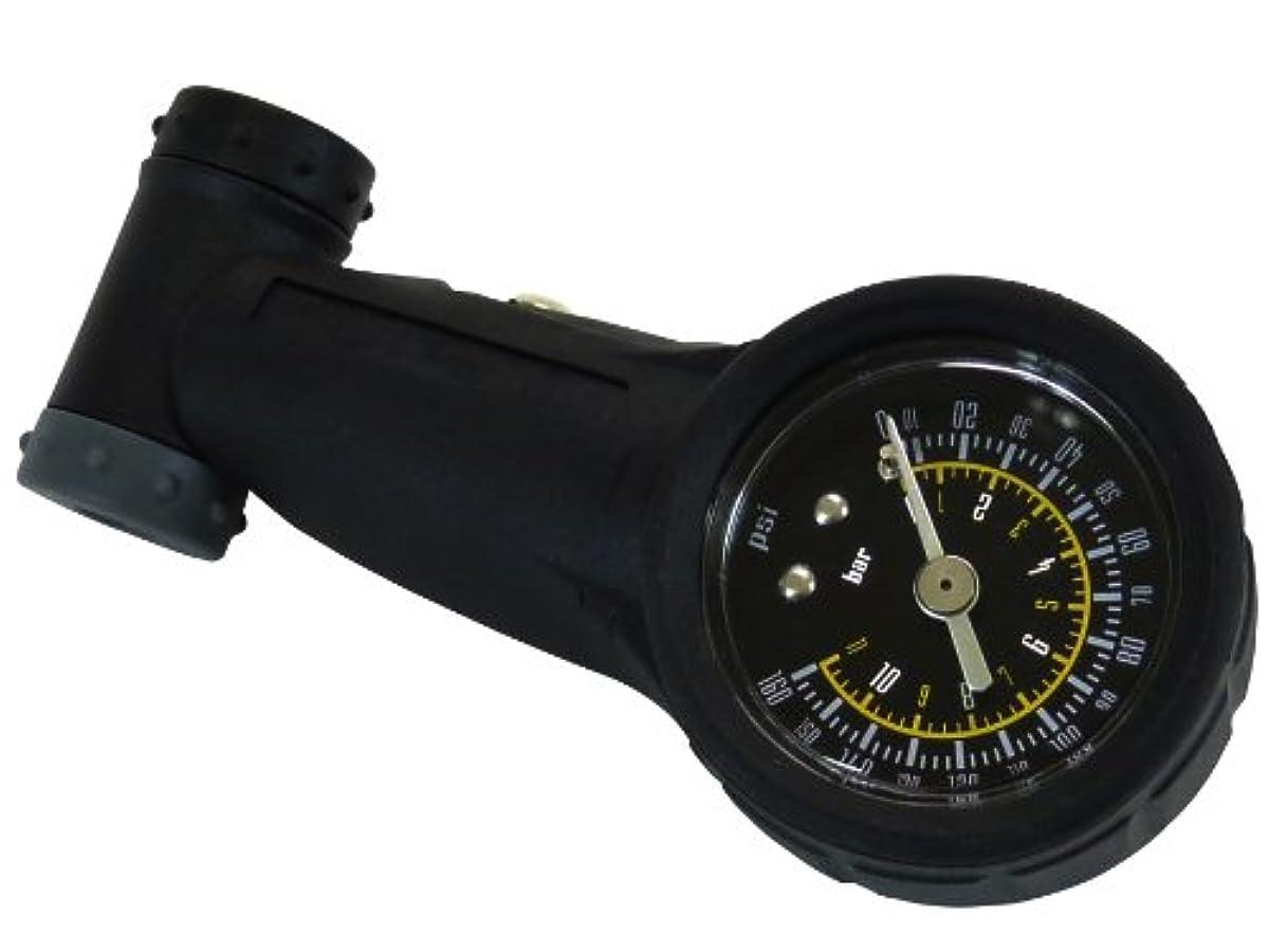 [해외] RULER롤러 퍼터이어 게이지 트윈 밸브 블랙 GG-05