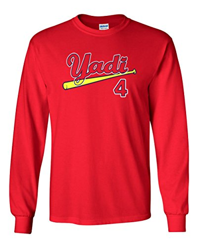 - The Silo LONG SLEEVE RED St. Louis Yadi Molina