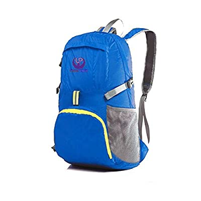 ULTRA Lightweight, LARGE 30L,Water Resistant Foldable Backpacks 4 Men, Women, Girls, Boys&Kids. FREE Travel, Sports Towel. STYLISH, Cool Bag Backpack. Great 4 Hiking,Gym,Beach. BEST Air Travel Gifts Ideas