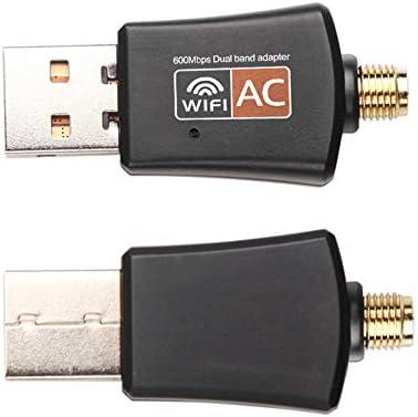 GetBeauty-US Wireless Dual Band 802.11ac USB WiFi 5Ghz 2.4Ghz 600Mbps Adapter RTL8811AU