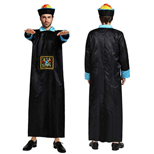Ugthe Chinese Qing Dynasty Zombie Robe Halloween