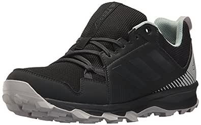 adidas Outdoor Women's Terrex Tracerocker GTX W Trail Running Shoe, Black/Carbon/ash Green, 6.5 M US