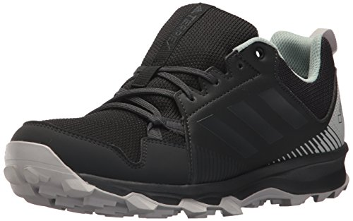 adidas outdoor Women's Terrex Tracerocker GTX W Trail Running Shoe, Black/Carbon/ash Green, 10 M US