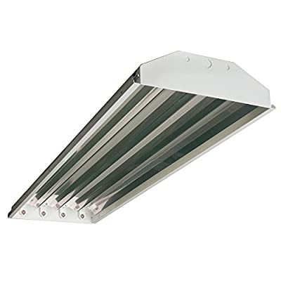 HENO 4-Lamp T5 Fluorescent High Bay 120v-277v