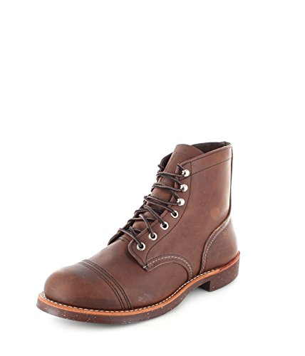 Red Wing Heritage Iron Ranger 6-Inch Boot, Amber