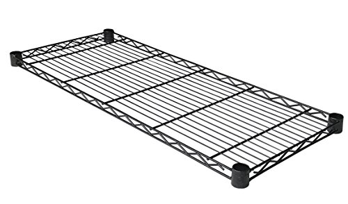 Excel ES-3614P NSF 36In. x 14In. Individual Wire Shelf, B...