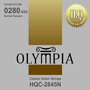 CUERDAS GUITARRA CLASICA - Olympia (HQCT) (Juego Completo) Tension ...