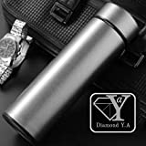 DIAMOND Y.A/Travel Mug/Double Wall Insulated Water Bottle...