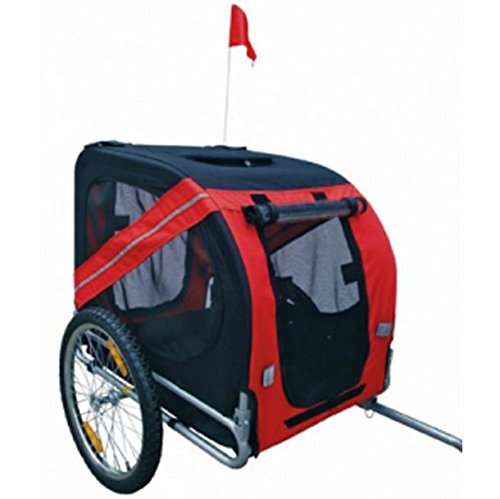 SKB Family Dog Bike Trailer Red New Pet Carrier Jogger Stroller Cart