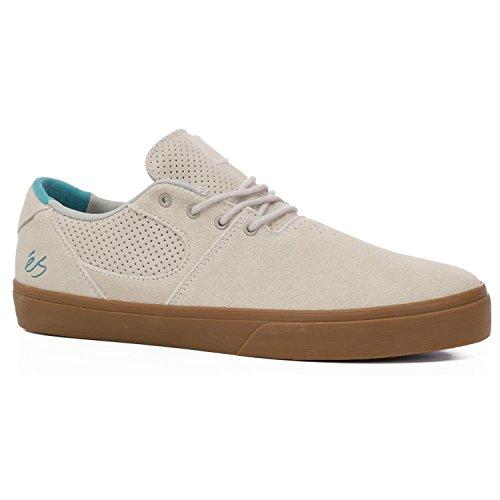 ES Accel SQ Calzado color blanco Gum zapatos de Skate, White/Gum, M