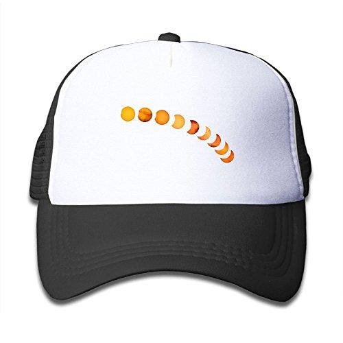 Discount DNUPUP Kid's Gradation Total Solar Eclipse Adjustable Casual Cool Baseball Cap Mesh Hat Trucker Caps free shipping