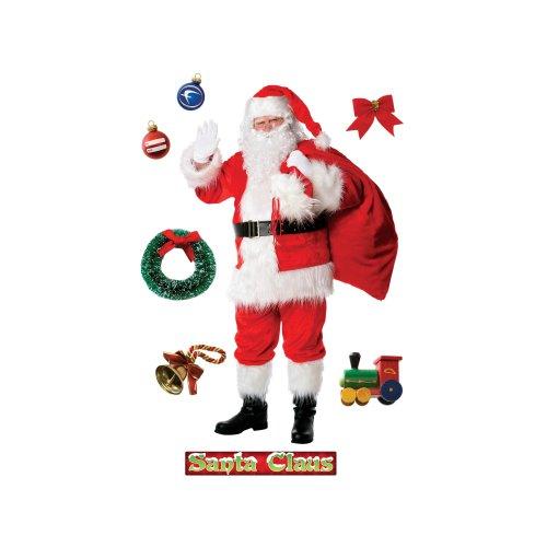 Wall Santa Claus (FATHEAD Santa Claus Wall Decal)