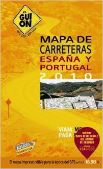 2010 - guion, el - mapa de carreteras de España y Portugal