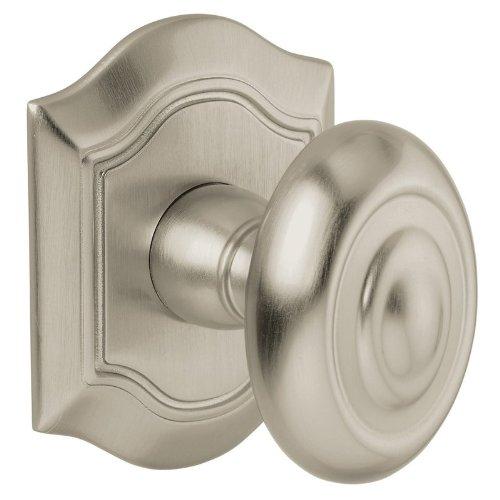 Baldwin 5077150IMR Satin Nickel Individual Bethpage Estate Door Knob Without ()