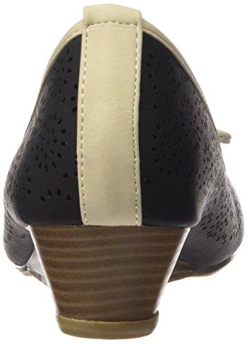 XTI Zapatos de tacón - Zapatos de tacón para mujer NEGRO
