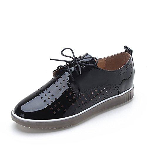 Zapatos De Las Mujeres Con Tamaño Grande/Zapatos De Cinturón De Tacón Plano Ocio/Zapatos Transpirables A