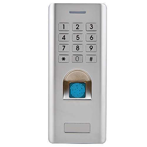 Fingerprint Access Control, Electronic Smart Metal Fingerprint Lock Door Access Control System Biometric Fingerprint Unlock Security Entry Machine for Home Office