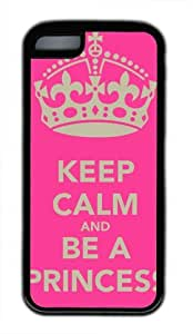 Keep Calm and Carry On DIY Hard Shell Transparent ipod touch 5 ipod touch 5 Case Perfect By Custom Service