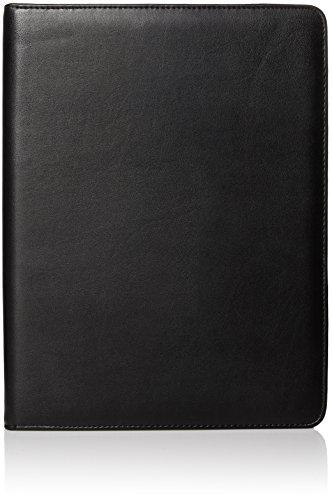 Dopp Men's Zip-Around Cal-Q Pad, black, One - Zip Folio Agenda Around
