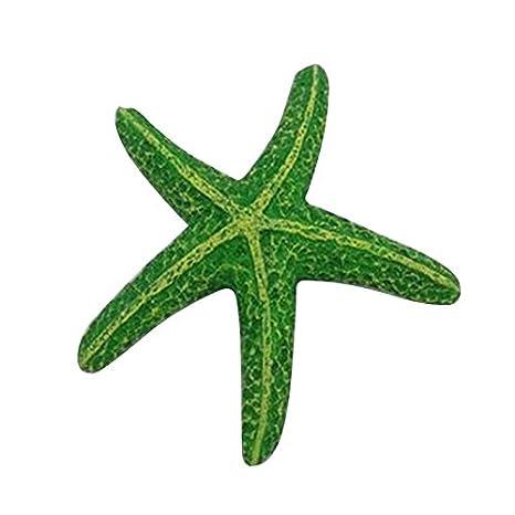 GUOYIHUA pecera acuario simulación estrella de mar acuario paisaje decoración: Amazon.es: Productos para mascotas