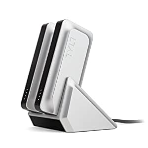 TYLT External Battery Power Bank: 2X Banks with Dock - 5200 mAh Rechargeable Portable Batteries: Mobile Cell Phone, Smartphone & Tablet Charger: Fast, Universal Charge for Apple & Android Devices