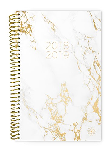 Bloom Daily Planners 2018-2019 Academic Year Day Planner - Monthly and Weekly Calendar Book - Inspirational Dated Agenda Organizer - (August 2018 - July 2019) - 6