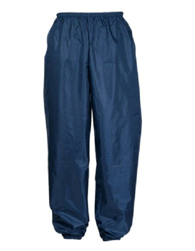 Kajimeiku rain pants polyester (with hem rubber) Navy 5L 2214