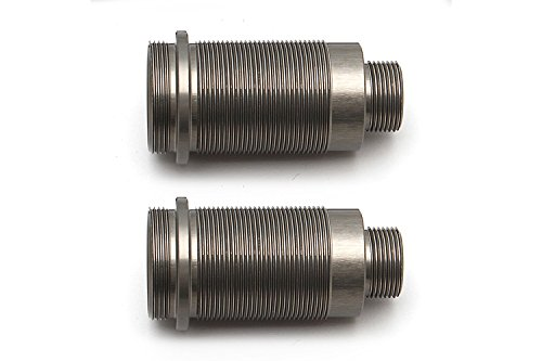 Team Associated 7261 FT 16x25mm Threaded Shock Bodies Aluminum Pair Vehicle (Associated Threaded Shock)