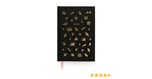Amazon.com : Rifle Paper Co 12 Month Hardcover Agenda 2018 ...