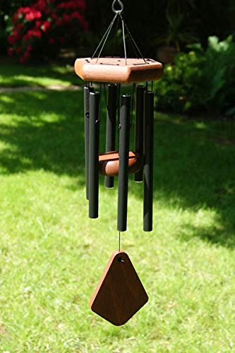 Anewgift 18 inch Wind Chimes- Tuned Small Garden Outdoor Windchimes for Patio and Terrace - Best Metal Musical Windchime Outdoor and Home Decoration