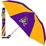 NCAA East Carolina Pirates Auto Folding Umbrella