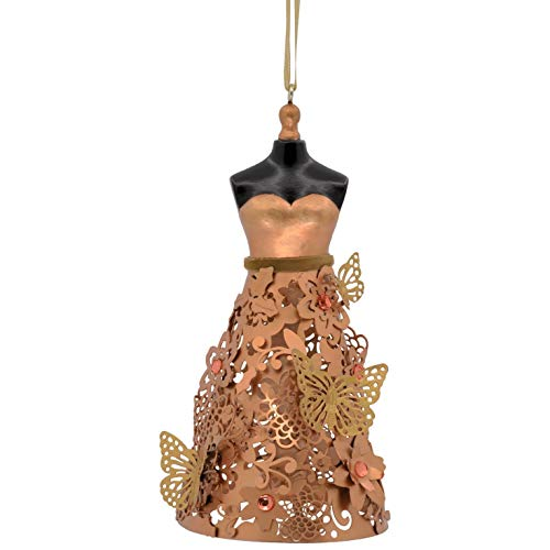 - Hallmark Signature Premium Christmas Ornament Butterfly Dress, Metal