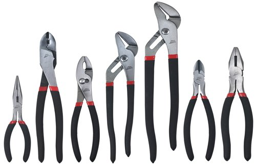ATD Tools (827) 7-Piece Mechanic's Pliers Set