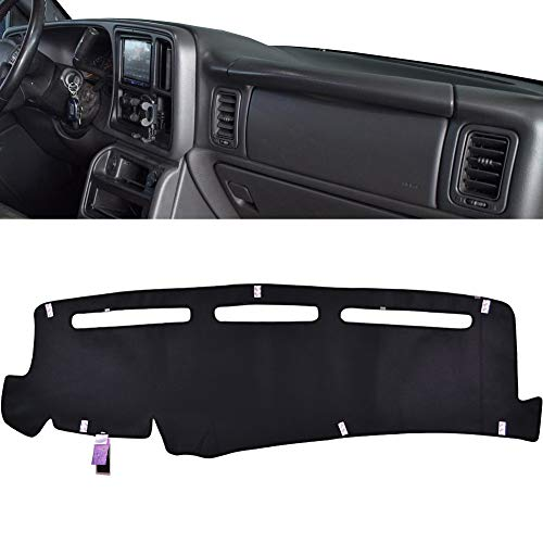 XUKEY Dashboard Cover for Chevrolet Silverado 1500 2500 3500 1999-2006 Avalanche Chevy Tahoe Suburban GMC Sierra Yukon Dash Cover Mat