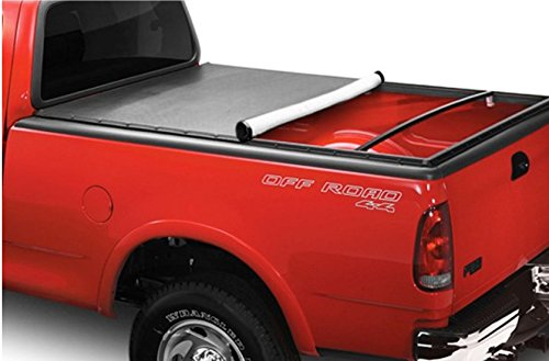 R&L Racing Snap-On Tonneau Cover+16X Led Lights 97-03 F150/F250 Flareside 6.5 Ft Truck Bed