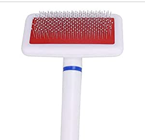Pet Comb Promotes White Balloon Stitching Comb Brush
